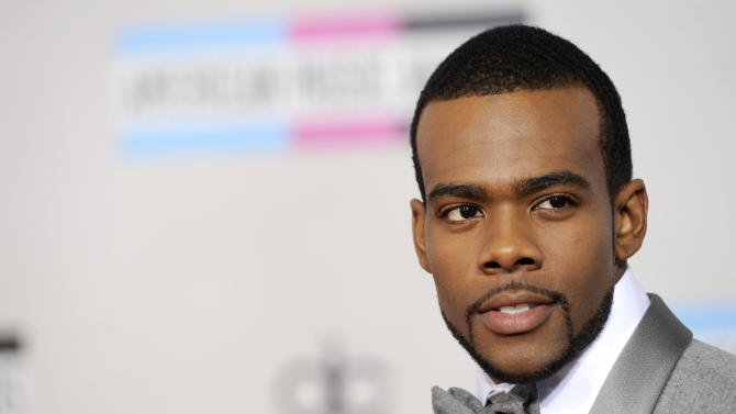 Mario arrives at the 39th Annual American Music Awards on Sunday, Nov. 20, 2011 in Los Angeles. (AP Photo/Chris Pizzello)