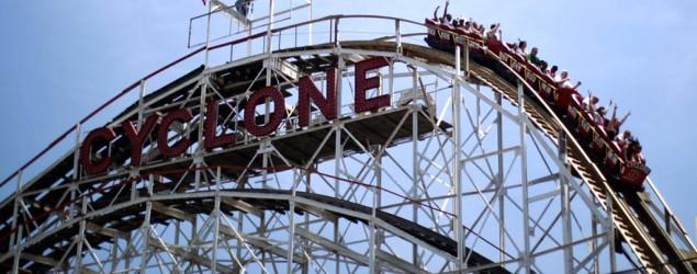 Riders forced to climb off Coney Island coaster