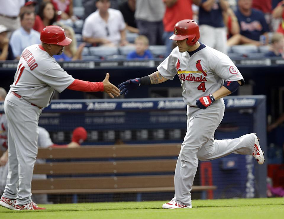 Mike Minor sharp as Braves top Cardinals, 4-1