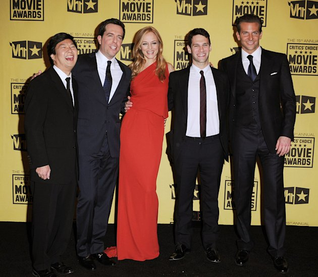 15th Annual Critics' Choice Awards 2010 Ken Jeong Ed Helms Heather Graham Justin Bartha Bradley Cooper