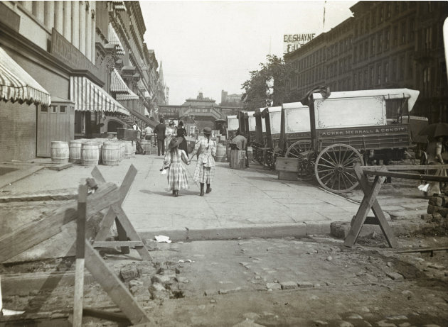 In this circa 1890 photo provided …