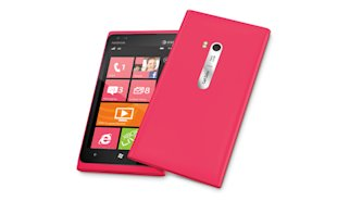 Nokia Lumia 900 in pink, which will be available through AT&amp;T for $49.99 with a two-year contract. To learn more about the new handset, you can also visit www.facebook.com/nokiaus. 