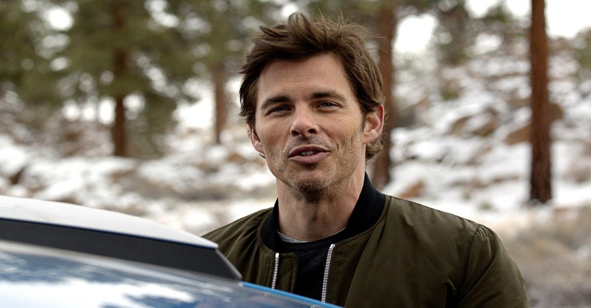 How far will James Marsden take the RAV4 Hybrid?