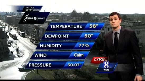 Expect high temperatures in 50s tomorrow