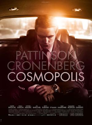 David Cronenberg's 'Cosmopolis' is set to compete at next month's Cannes film festival.