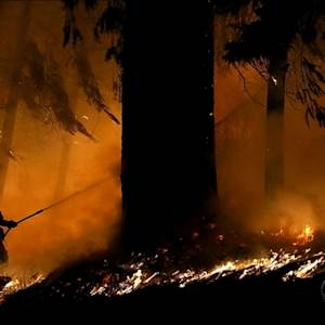 Massive fire continues rampage across Northern California