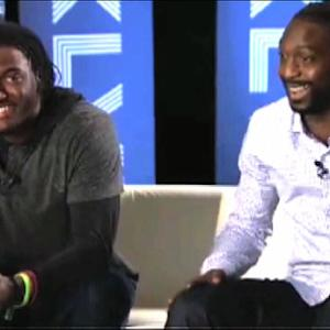 Tillman and Griffin III discuss their military upbringings