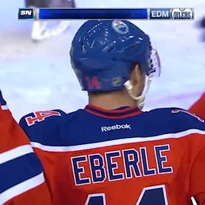 Eberle's first career hat trick