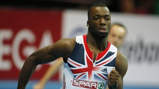 Great Britain's Nigel Levine at the European Indoor Athletics Championships (Imago)
