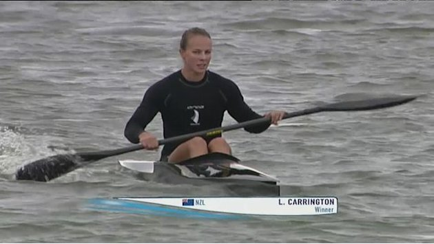 Success for Carrington at ICF Canoe Sprint World Cup