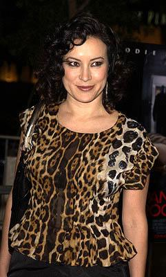 Jennifer Tilly at the LA premiere of Columbia's Panic Room