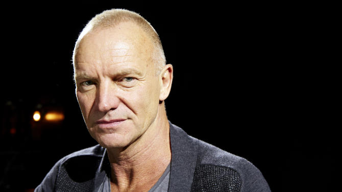 Sting tries musical theater with 'Last Ship'