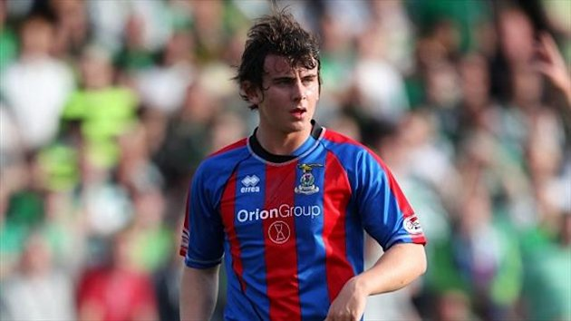 Aaron Doran has committed his future to Inverness