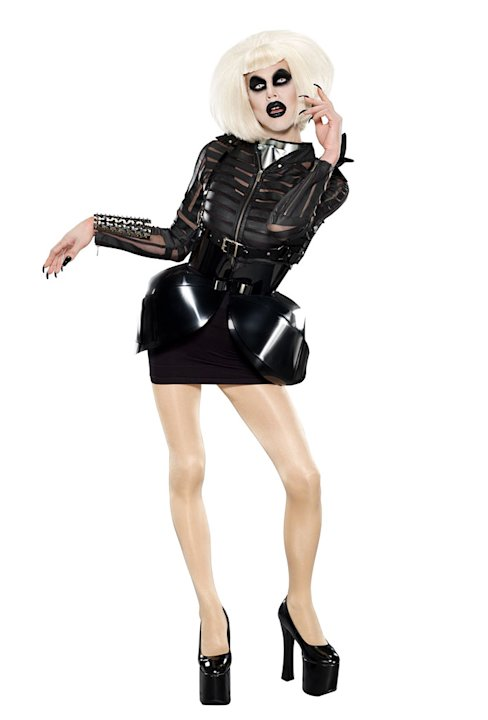 "Sharon Needles competes in Season 4 of ""RuPaul's Drag Race."""