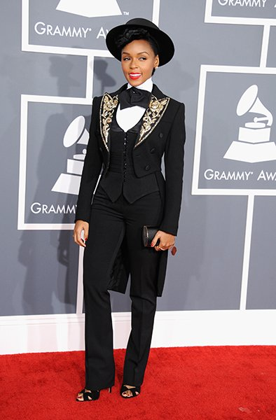 BEST: Janelle Monae wearing …