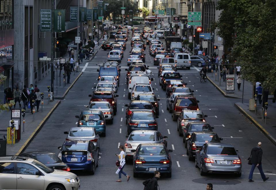 SF transit strike has commuters facing gridlock