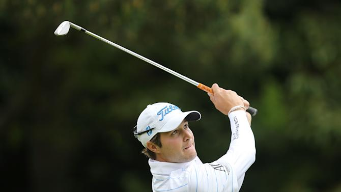 Golf: USA's Peter Uihlein in action during the third round
