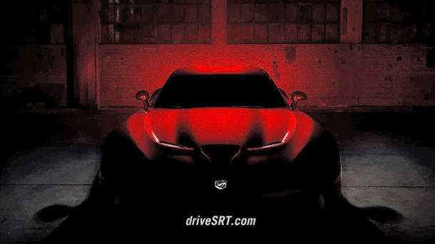 SRT Viper Dodge teaser