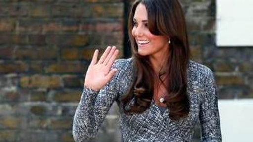 Duchess Kate Shows Off Bump, Returns to Charity Work
