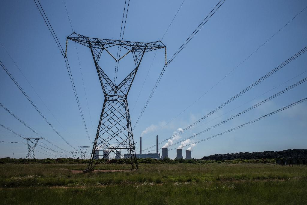 S. Africa puts first new power station on line in 20 years