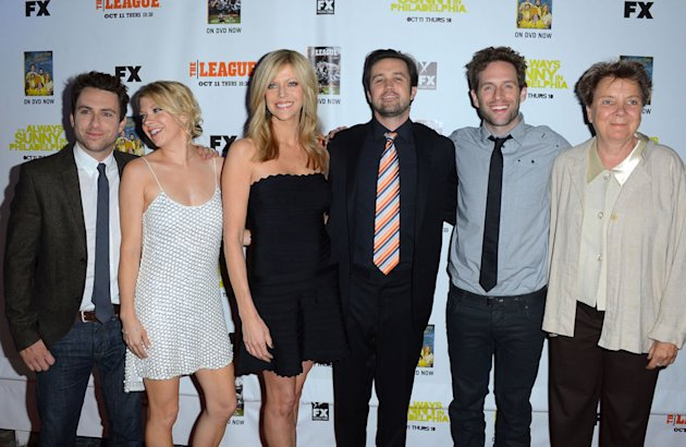 "Premiere Screenings Of FX's ""It's Always Sunny In Philadelphia"" Season 8 And ""The League"" Season 4 - Arrivals"