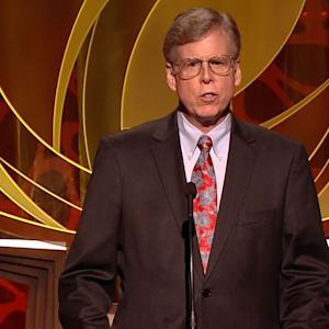 Chris Cookson Presents the 2014 Hall of Fame Award to Ray Dolby