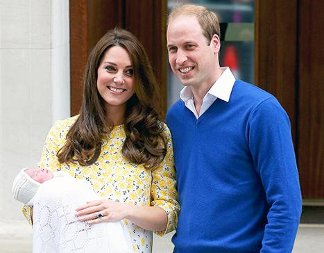 Stars Congratulate Kate Middleton, Prince William on Birth of New Princess