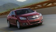 GM scored a 32 percent increase in Chevrolet Malibu sales