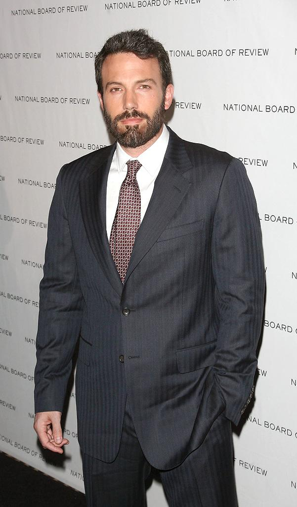 2011 National Board Of Review Of Motion Pictures Gala Ben Affleck