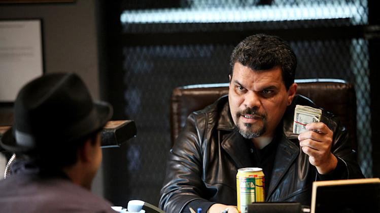 "Luis Guzman in ""How To Make It In America."""