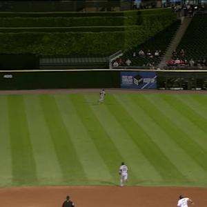 Bourn's double play