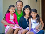 kristi yamaguchi with her husband and kids