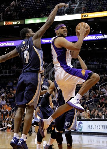 Suns edge Grizzlies 82-80