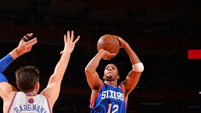 76ers send Knicks to 5th straight loss, 110-106