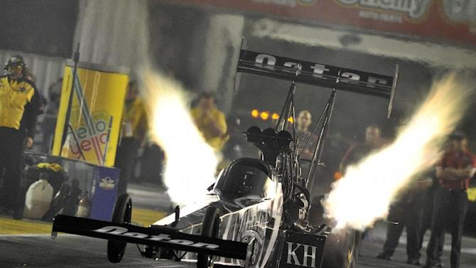 Funny Car points leader Matt Hagan tops qualifying
