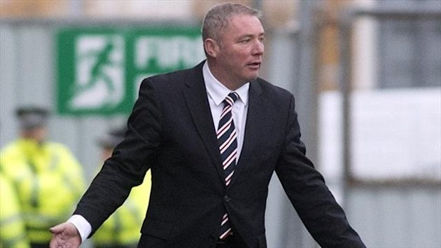 Ally McCoist does not want to see flares at football matches