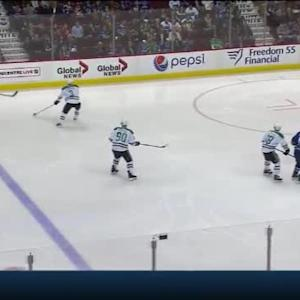 Kari Lehtonen Save on Luca Sbisa (01:25/2nd)