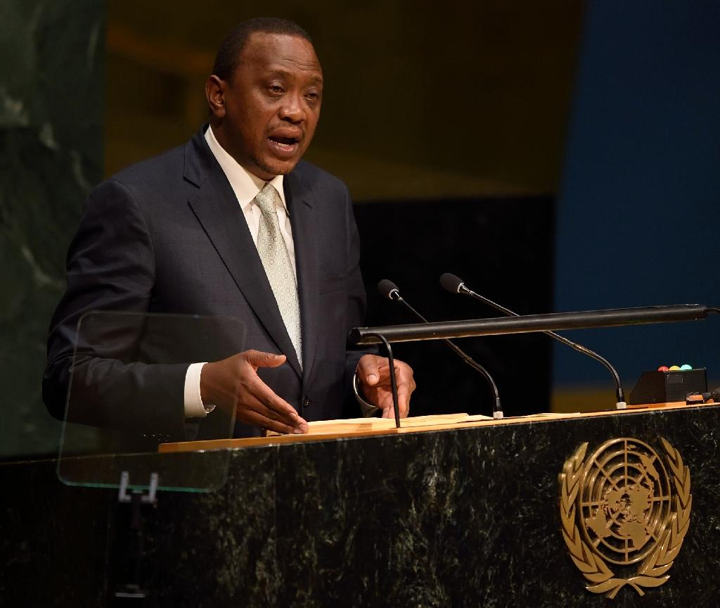 Kenyan president fires five graft-tainted ministers