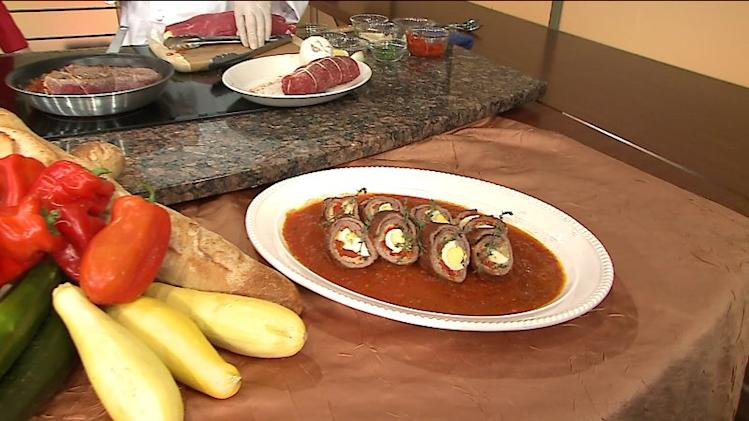How to make beef braciole from Cucina Paradiso