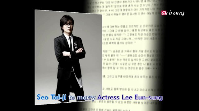 Showbiz Korea : 2013 TEEN TOP No.1 Asia Tour | Seo Tai-ji Marries Actress Lee Eun-sung