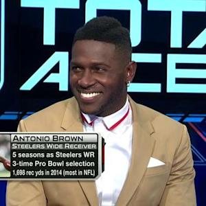 Pittsburgh Steelers wide receiver Antonio Brown on Troy Polamalu's future: We'll miss him in the locker room