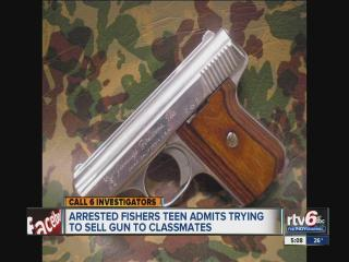 Police: Teen tried to sell gun via text