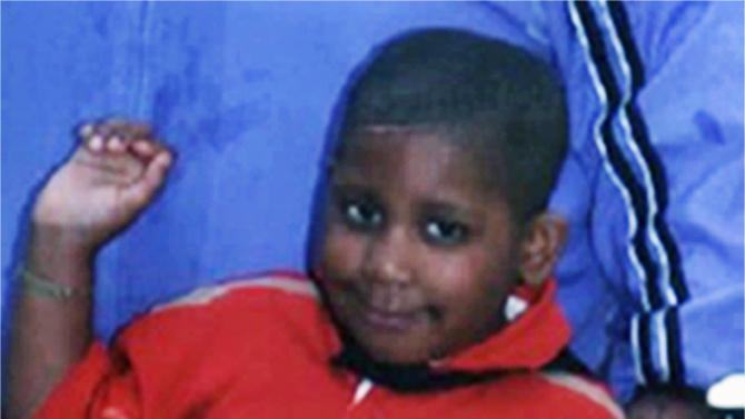 FILE - This undated file photo provided Oct. 24, 2008, by the Chicago Police Department shows 7-year-old Julian King, the nephew of singer and actress Jennifer Hudson, who was found killed in October 2008. On Wednesday, April 25, 2012, testimony focused on the abduction and murder of the youngest victim during the third day in the Chicago murder trial of William Balfour, charged with King's death as well as the deaths of Hudson's mother and brother. (AP Photo/Chicago Police Department, File)