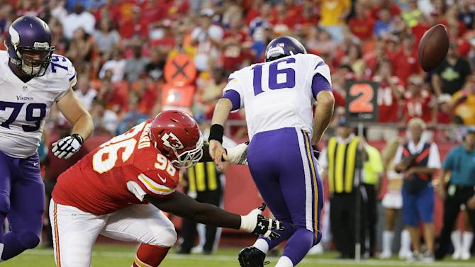 Chiefs' offense on 0-for-16 skid in scoring TDs