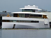 Steve Jobs&#39; dream yacht, Venus, finally launches