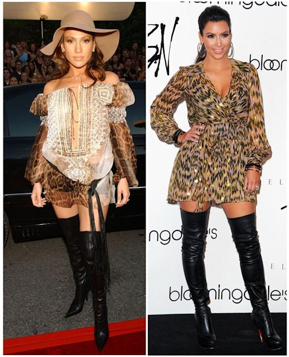 LEOPARD AND BOOTS, OH MY!