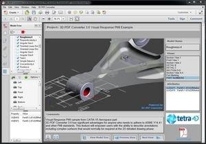 tetra4D Releases 3D PDF Converter 3.6 With Critical MBD Enabling Functionality