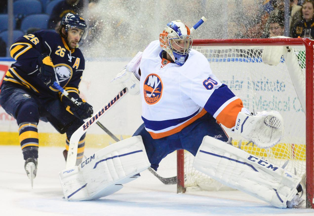 Sabres rally to beat Islanders 4-3 in SO