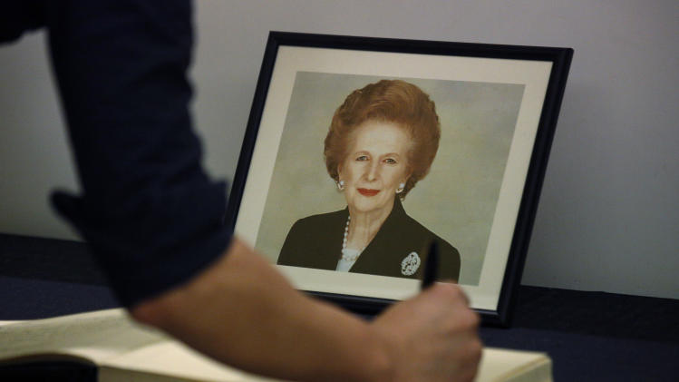 Thatcher funeral set for April 17; queen to attend