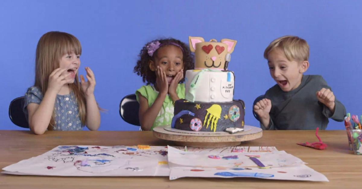 Kids Imagine Fantasy Cakes…Then Get Them For Real